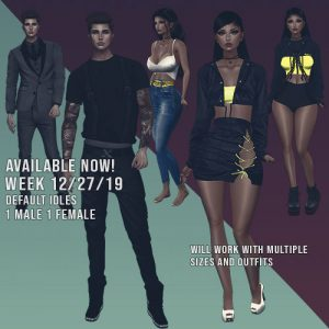 weekly free poses visnova week 8 imvu